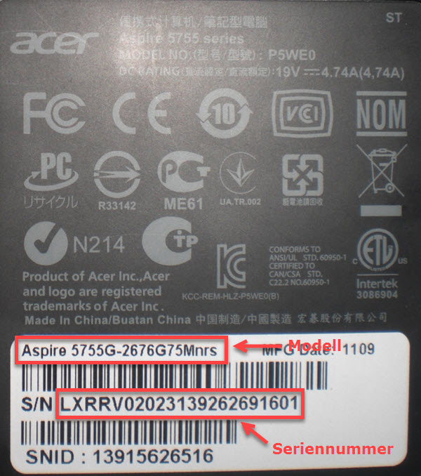 Acer Notebook 01